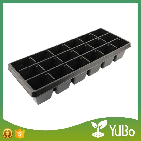 18 Cell Tree Seedling Plug Trays, Seedling In Tray For Planting