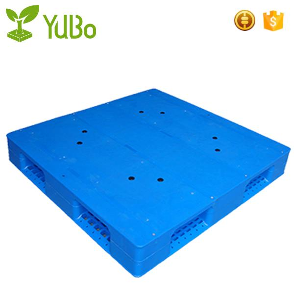 1100*1100mm Flat Top Double Face Heavy Duty Plastic Pallet Racking