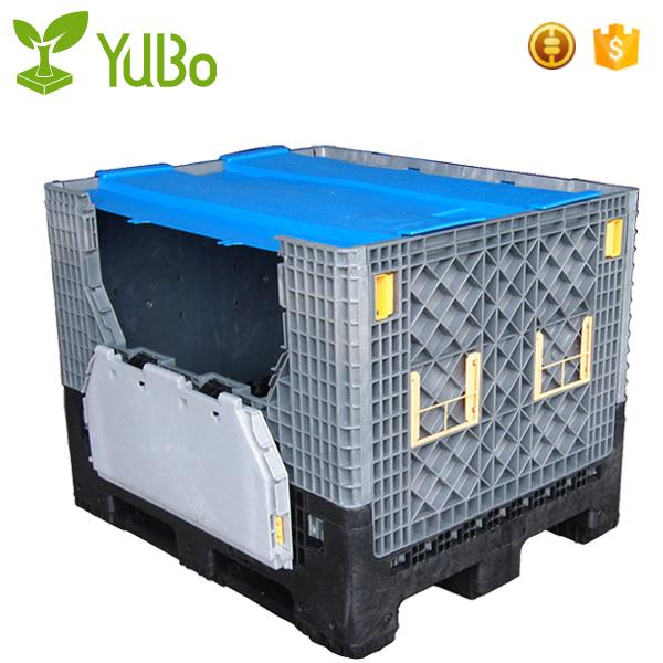 1200*1000mm Collapsible Industrial Platic Pallets Create, intermediate bulk containers supplier
