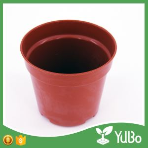 18cm Large Plastic Planter Pot, Plant Pot in Garden