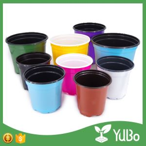0.9-2.3cm Colorful Flower Pots For Plants