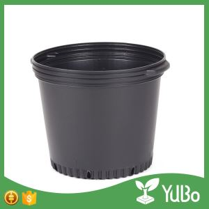 2 Gallon Black Herb Garden Container and Planters flower pots