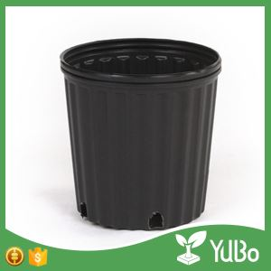 7 Gallon Black Large Plant Pots Planter Boxes for Trees