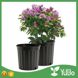 7 Gallon Black Large Outdoor Flower Pots For Plants