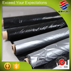 30 Micron 120cm*1000m Silver On Black Plastic Mulch Film manufacture