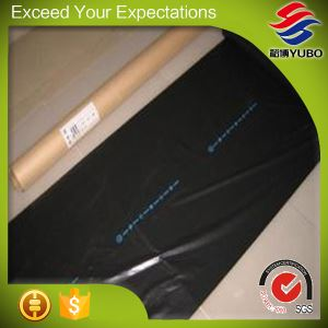 25 Micron 120cm*1000m Silver On Black Plastic Mulch Film factory