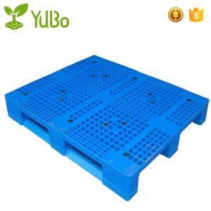 1210mm Single Face Vented Top Plastic Pallets manufacture