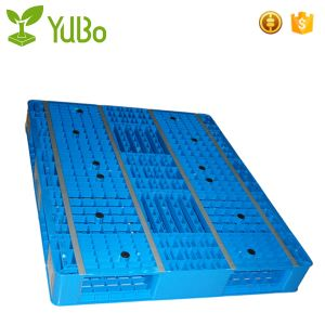 1200*1000mm Vented Double Face Anti-Slip Strip Plastic Pallet, 40*48 euro plastic maximum load pallets factory