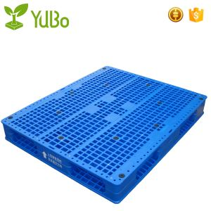 40*48 Inch Vented Double Face Plastic Transport Pallet, Stackable cheap pallet dimensions in inches factory