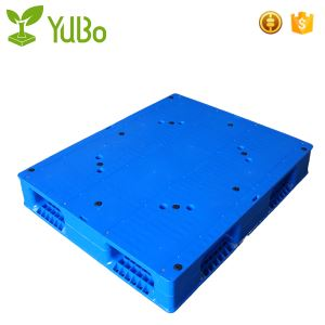 1100*1100mm Flat Top Double Face Heavy Duty Plastic Pallet Racking racking