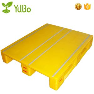 1250*1000mm Flat Top Yellow Customizable Plastic Pallets, weight of cheap plastic pallet factory