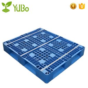 1300*1100mm Vented Top Anti-Slip Strip Storage stell plastic Pallets factory