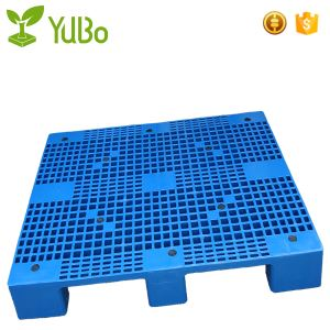 1200*1000mm 9 Legs Steel Tube Reinforced supplier Plastic Pallets with sides