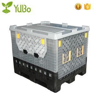 1200*1000*975mm Plastic Pallet Container, collapsible bulk containers supplier