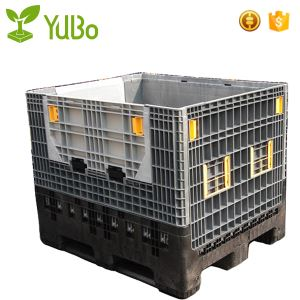 1200*1000*975mm Collapsible Plastic Pallet Container, pallet box supplier