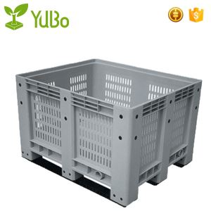 1200*1000mm 100% Virgin HDPE Vented Plastic Pallet Bin, plastic export pallets container manufacture
