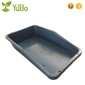 835*524*185mm Airport Plastic Baggage Tray, plastic bin containers supplier