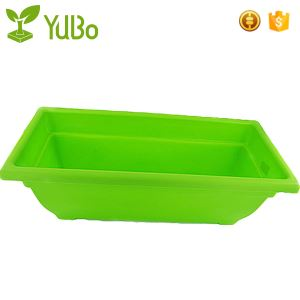 83*30*29cm Plastic Flower Pot Planter Boxes , Plant Trough Containers