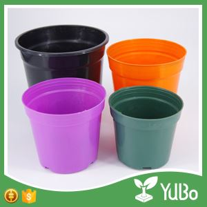 Colourful Garden Plant Pots , Customer Design Flower Pot Containers, flower pot design
