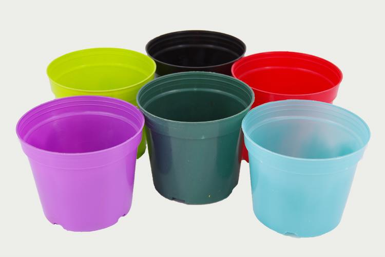 large plastic pot