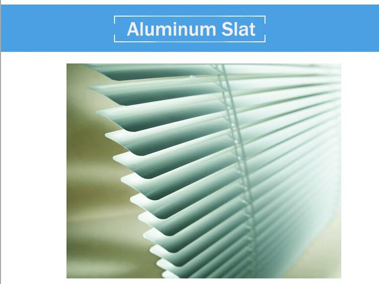25mm aluminum blinds
