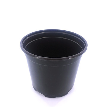 14cm Outdoor Nursery Plastic Flower Pots Planters in Garden