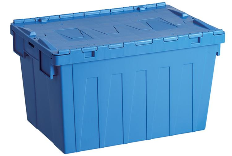 Attached Lid Cheap Plastic Storage Boxes