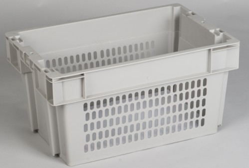 Perforated Side and Base Plastic Crates