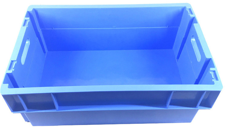 Solid Side and Base Plastic Crates