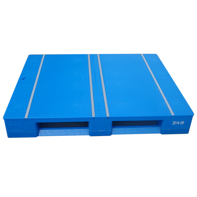 Flat Top Steel Tubes Reinforced Euro Plastic Pallet dimensions