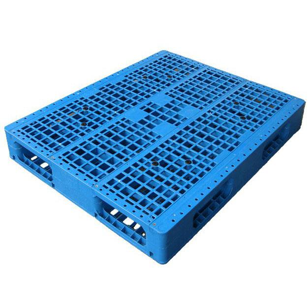 1000*1000mm Vented Top Single Face Plastic Pallet