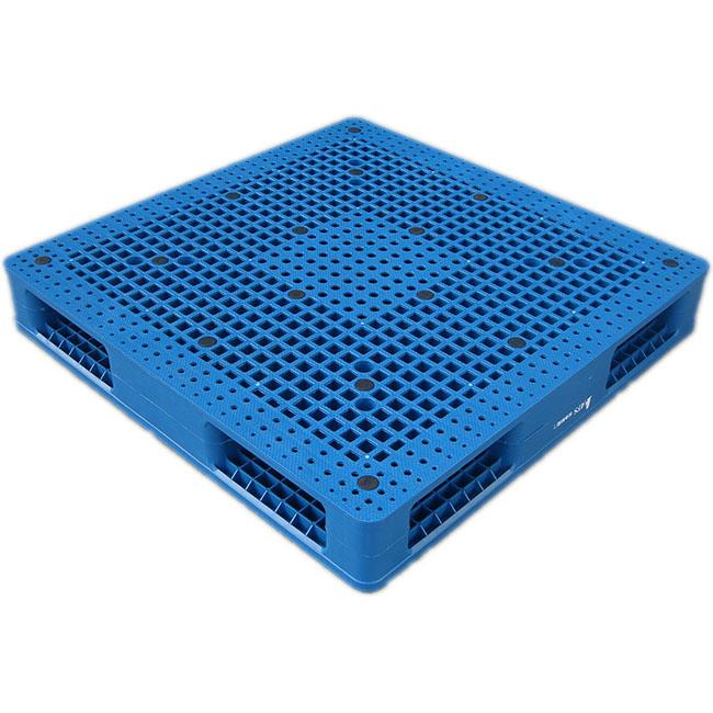 1000*1000mm Vented Top Double Face Plastic Pallet