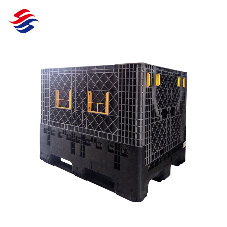 Plastic Crate With Wheels And Handle