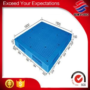 1500*1500mm Vented Top recycled Plastic Pallets price list