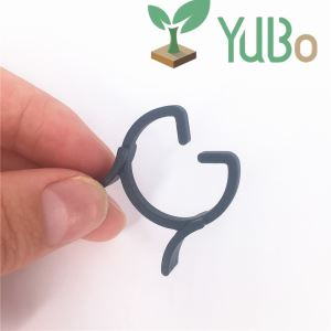 25mm Garden Plant Support Ring Clips, Plastic Tomato Vine Clips,Gardening clip Suppliers