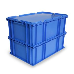 Cheap Price Solid Stackable Plastic Crate With Lid