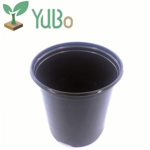 Eco-friendly 6 Inch PP Material Plastic Plant Flower Pot For Nursery, Plant Pots For Nurseries