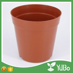 Plastic Flower Pot With Saucer, flower pot and saucer