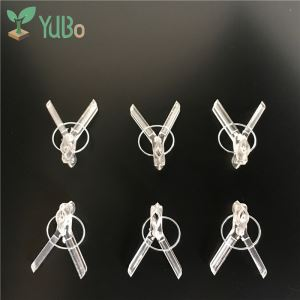 Clear Garden Plant Grafting Vegetable Clips, Watermelon Grafting Clips supplier