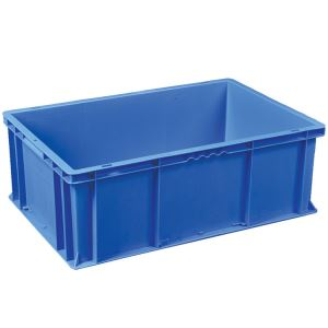 Solid Base Plastic Crates