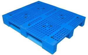 Vented Top Plastic Pallets With Sides